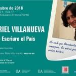 """Muriel Villanueva inicia el ciclo """"Escriure El País"""" en la Universidad de Alicante"""