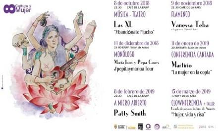 """La cultura que hacen las mujeres en el ciclo """"8 Cultura y Mujer"""" de Villena"""
