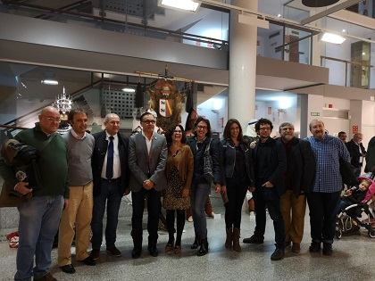 El Centre Municipal de les Arts inaugura «75 anys de Festa» Moros i Cristians de Sant Blai