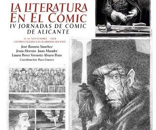 Alicante Cultura presenta «La Literatura en el Cómic» en Las Cigarreras