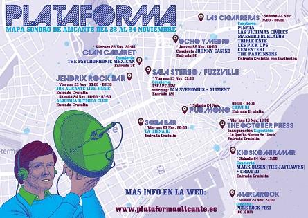 Alacant Cultura presenta el Festival Plataforma: aparador de l'actualitat musical i dels 80