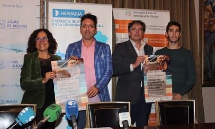 Aguas de Alicante celebra el 120 aniversari amb un concert solidari interpretat per l'Orquestra Filharmònica de la Universitat d'Alacant