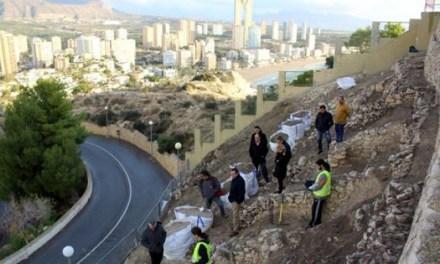 Benidorm remite a Conselleria el proyecto de consolidación, excavación y musealización del Tossal de La Cala