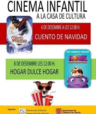 Cinema infantil a la Casa de Cultura de Callosa d'en Sarrià