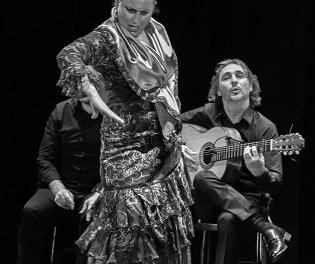"""La mítica bailaora """"La Lupi"""" abrió el Festival de Flamenco Mediterráneo de Alicante organizado por la Fundación Caja Mediterráneo"""