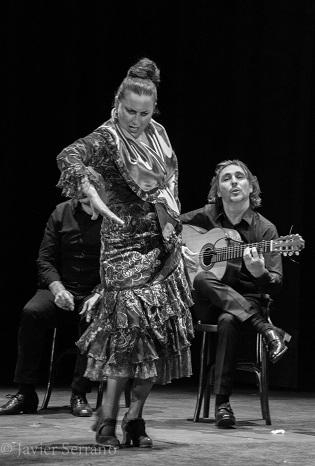 """La mítica balladora """"La Lupi"""" va obrir el Festival de Flamenc Mediterrani d'Alacant organitzat per la Fundació Caja Mediterráneo"""