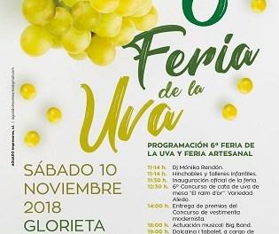 Inauguración de la VI Feria de la Uva de Novelda