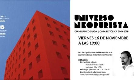 L'exposició, UNIVERS NEOPURISTA de Gianfranco Spada arriba al Museu del Mar i La Pesca el 16 De Novembre