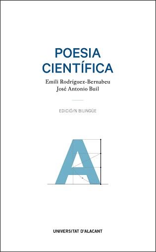 """La Sede Universitaria Ciudad de Alicante presenta """"Poesía científica"""", apuesta interdisciplinar y bilingüe para pensar y sentir la ciencia"""
