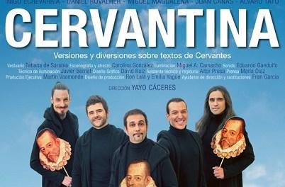 El actor Álvaro Tato visita este lunes la Casa Bardín para hablar de la obra Cervantina, ganadora del Premio José Estruch