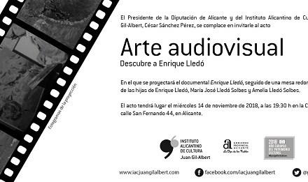 El cicle 'Art audiovisual' de l'Institut Juan Gil-Albert projecta hui un documental sobre el pintor Enrique Lledó