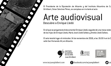 El cicle 'Art audiovisual' de l'Institut Juan Gil-Albert projecta hui un documental sobre el pintor Enrique Lledó