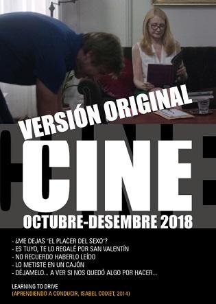 El Nou thriller espanyol en el Cicle de Cinema en Versió Original de la Seu Ciutat d'Alacant de la Universitat