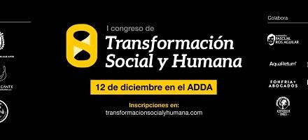 """Más de 1.000 personas inscritas en el """"I Congreso de Transformación Social y Humana"""""""