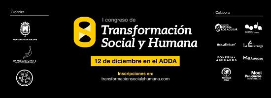 """Més d'1.000 persones inscrites en el """"I Congrés de Transformació Social i Humana"""""""