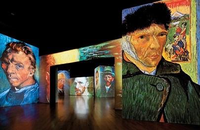 """L'exposició """"Van Gogh Alive"""" diu adéu a Alacant després de conquistar a 60.000 visitants"""