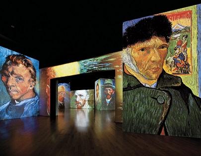 La exposición «Van Gogh Alive» se despide de Alicante tras conquistar a 60.000 visitantes