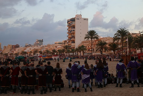 Las Fiestas de Moros y Cristianos y el Desembarcament de El Campello obtienen el Interés Turístico Provincial