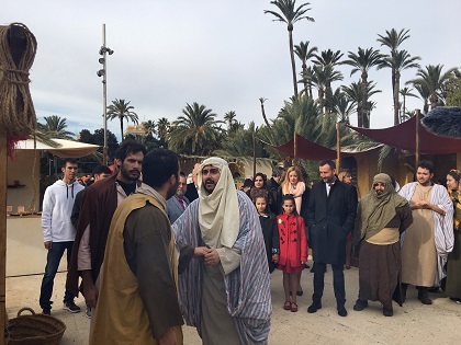 Inauguración del Belén Viviente de Elche