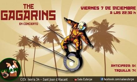 Concert The Gagarins en Sala Euterpe aquest divendres