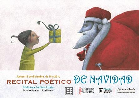 Recital de poesía navideña en Alicante