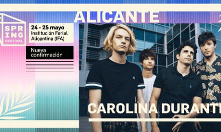 Carolina Durante, autoconfirmados en Spring Festival 2019, arrasan con su sold out en Stereo Alicante