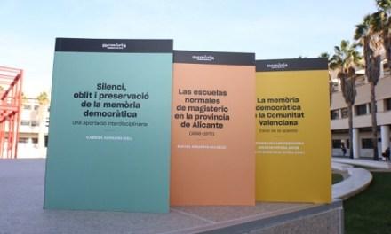 Una nueva colección literaria publica las investigaciones de la Cátedra Interuniversitaria de Memoria Democrática