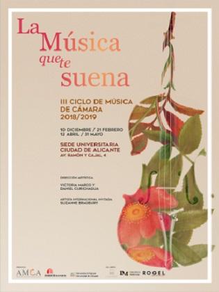 """Inici del cicle """"La Música que et sona"""" en la Seu Universitària Ciutat d'Alacant"""