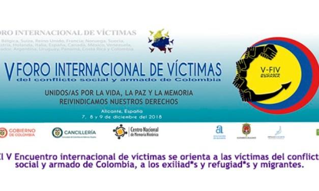 Més de 100 víctimes del conflicte armat colombià es reuneixen a Alacant