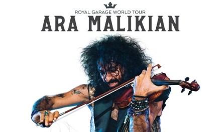 Ara Malikian presenta en el Auditori Teulada Moraira el seu nou espectacle Royal Garage World Tour