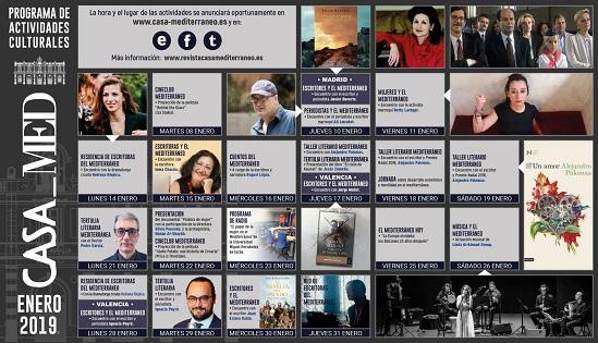 Casa Mediterráneo inicia les seues activitats aquest mes de gener i fundarà la Xarxa d'Escriptores del Mediterrani