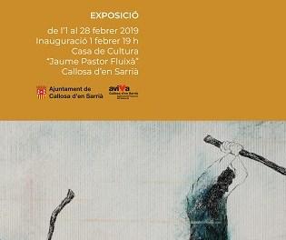 La Casa de Cultura de Callosa d'en Sarrià inaugura este viernes una exposición del callosino Joan-Ives Pasqual