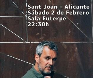 Rafa Pons presenta su nuevo disco «La guerra del sexo» en la Sala Euterpe de Sant Joan