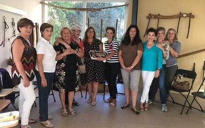 """Una nueva edición del café literario que celebra cada mes el club de lectura """"La Finestra màgica"""" en el museo de Finestrat"""