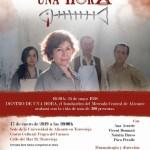 """La Sede Universitaria de Torrevieja programa la obra teatral """"Dentro de una hora"""""""