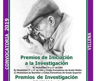 """Premios """"José María Soler"""" de Investigación e Iniciación a la Investigación 2019"""