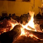 Encendido de la hoguera de San Antón en Villena
