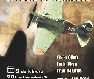 """Atrapa Teatro estrena en Sant Joan """"CANELOBRE. El vuelo de la mosca"""", una historia de los últimos días de la República"""