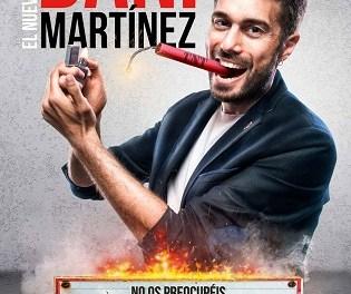 El cómico Dani Martínez garantiza las risas en Aula de Cultura de Alicante con su monólogo ¡Ya lo digo yo!