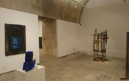 El Castell de Santa Bàrbara ha inaugurat l'exposició «Mar de Fusta» de Frutos María
