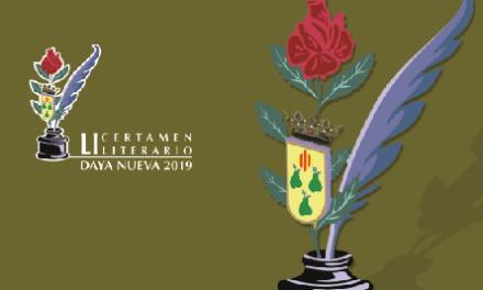 Convocados los Premios Literarios 2019 del Club Excélsior de Daya Nueva