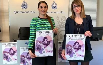 La Plaça de Baix d'Elx acull un nou «Femin Festival» amb les actuacions de Conchita, La Furia i Las Infrarrojas