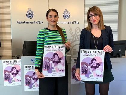 """La Plaça de Baix  de Elche acoge un nuevo """"Femin Festival"""" con las actuaciones de Conchita, La Furia y Las Infrarrojas"""