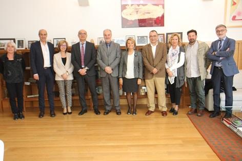 La gastronomía une a la Universidad de Alicante y a la Asociación de Restaurantes de Alicante