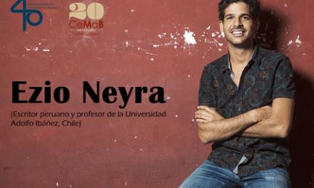 L'escriptor peruà Ezio Neyra parlarà de literatura i mercat en el CeMaB de la Universitat d'Alacant