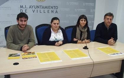 Agenda d'activitats a Villena per a tots els públics fins al mes d'abril