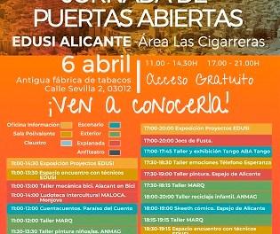 La Concejalía de Coordinación de Proyectos traslada la celebración de la Jornada de Puertas Abiertas EDUSI al 6 de abril por riesgo de lluvias