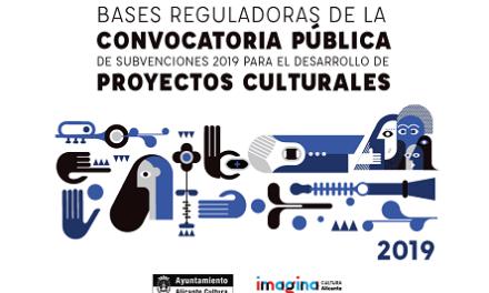 Abierta la convocatoria pública de subvenciones 2019 del Ayuntamiento de Alicante para el desarrollo de proyectos culturales