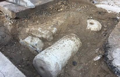 Nuevo hallazgo arqueológico en el Pontet de Altea durante el transcurso de unas obras municipales