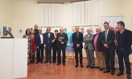 Altea i UGT-PV homenatgen a l'artista Pepe Azorín pel seu 80 aniversari